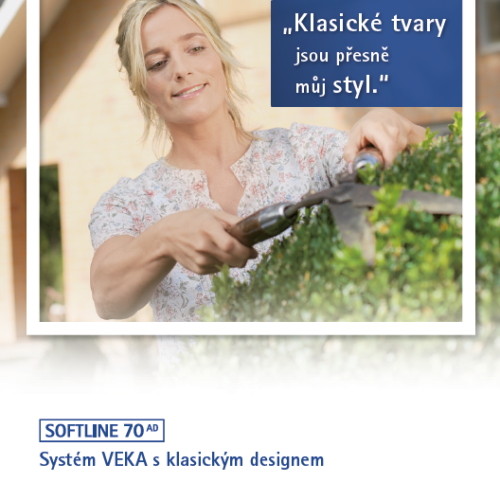 Brožura VEKA SOFTLINE 70 AD