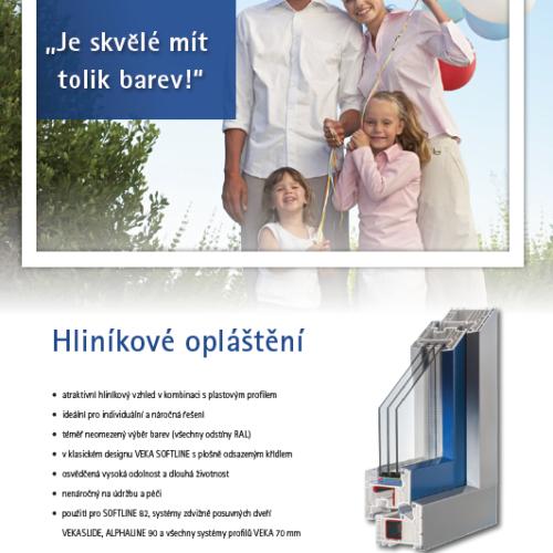 Brožura Hliníkové opláštění